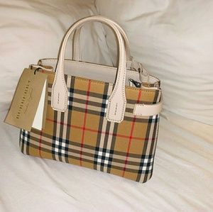 Burberry small tote bag